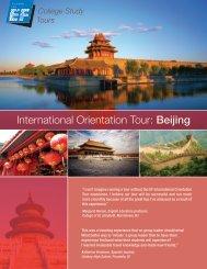 International Orientation Tour: Beijing - EF College Study Tours