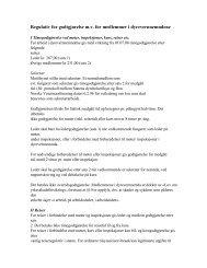 Intern høring ny instruks dvn - regulativ - Norsk Huskattforening