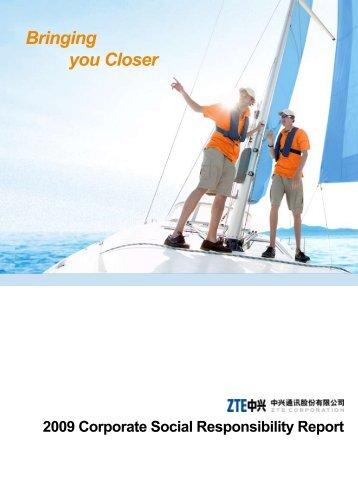 ZTE Corporation CSR Report 2009