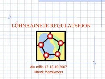 Lõhnaainete määrus