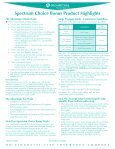spectrum choice Bonus product Highlights - Business Underwriters ... - Page 2