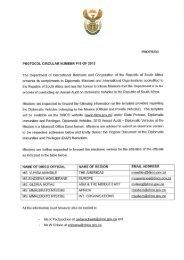 Protocol Circular No P 18 of 2013 - Department of International ...