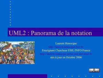 UML2 : Panorama de la notation - Laurent Henocque