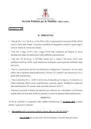 Ordinanza via Turri.pdf - Comune di Reggio Emilia