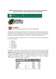 Digitisation and data quality control of Mexican and Central ... - Gbif.es