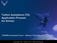 Overview of Air Force TA Application Process (PDF)