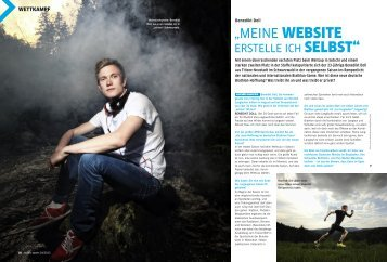 Interview aus dem nordic sports Magazin Ausgabe 4 ... - Benedikt Doll