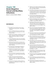 Chapter 180 Gram-Negative Coccal and Bacillary Infections