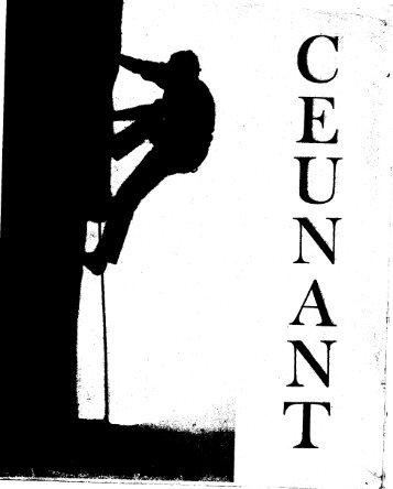 May 1973 - Ceunant Mountaineering Club