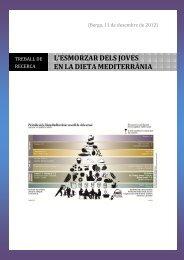 Treball Recerca Dieta - Premis Universitat de Vic als millors treballs ...