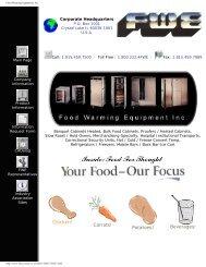 Food Warming Equipment, Inc. - Greenfield World Trade