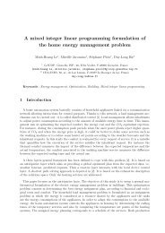 A mixed integer linear programming formulation of ... - ResearchGate