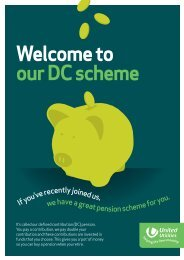 Welcome to our DC scheme - About United Utilities