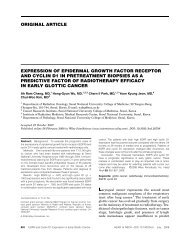Expression of epidermal growth factor receptor and cyclin D1 in ...