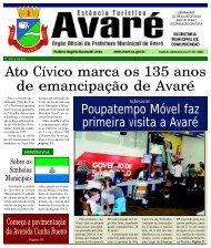 Ato Cívico Marca Os 135 Anos - Câmara Municipal de Avaré ...