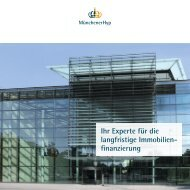 Ihr Experte für die langfristige Immobilien finanzierung - Münchener ...