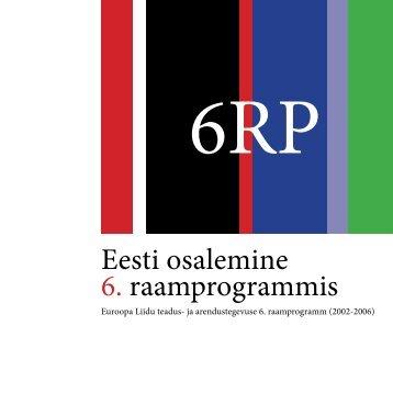 Eesti osalemine 6. raamprogrammis - Archimedes