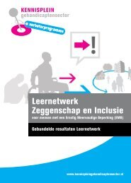 Leernetwerk Zeggenschap en Inclusie - Kennisplein