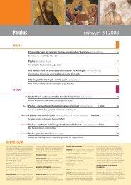 Paulus - Entwurf online
