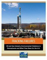 Frack Fail. report
