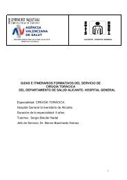 CIRUGIA TORACICA 04-03-13 - Agencia Valenciana de Salud