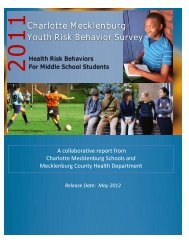 Middle School Highlights - Charlotte-Mecklenburg Schools