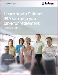 IRA Client Brochure - Putnam Investments