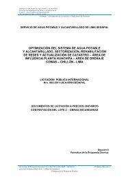 SECCION 5 FORMATOS PROP TECNICA (LOTE ... - sedapal.com.pe
