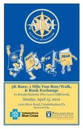 5K Race, 1 Mile Fun Run/Walk, & Book Exchange ... - AIM Academy