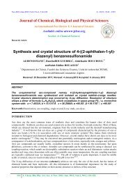 ((2-aphthalen-1-yl)- diazenyl) benzenesulfonamide - Journal of ...