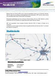 Montauban-de-Bretagne Parcelle AI 68 Parcelle AI 68 - RFF