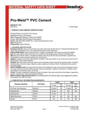 Pro-Weld™ PVC Cement - media - DiversiTech