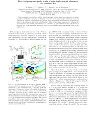 Electrical pump-and-probe study of spin singlet-triplet relaxation in a ...