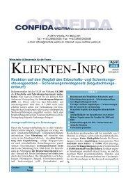 Klienteninfo 04/2008 als Pdf-Datei downloaden - Confida