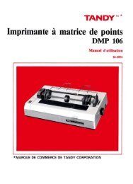 Imprimante à matrice de points - TRS-80 Color Computer Archive