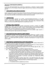 Allegato B: DISPOSIZIONI GENERALI - Provincia di Lecco
