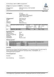 GUTACHTEN zur ABE Nr. 49197 nach §22 StVZO Anlage 2 zum ...