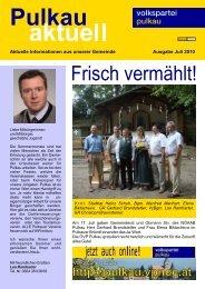 Frisch vermählt! - Pulkau - Volkspartei Niederösterreich
