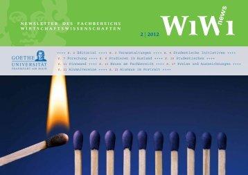 2  2012 - Wiwi Uni-Frankfurt - Goethe-Universität