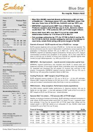 Blue Star Q2FY12 Result Update - Emkay Global Financial Services ...