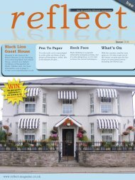 Black Lion Guest House What's On - Reflect Magazine