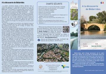 A la découverte de Bédarrides - CCPRO