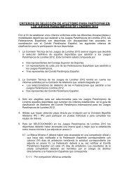 londres 2012 - Comité Paralímpico Español