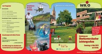 Oberharmersbacher Leistungsschau Sonntag, 6. Mai 2012 ab 10 ...