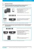 Модульные системы управления Logamatic 4000 - Buderus - Page 7