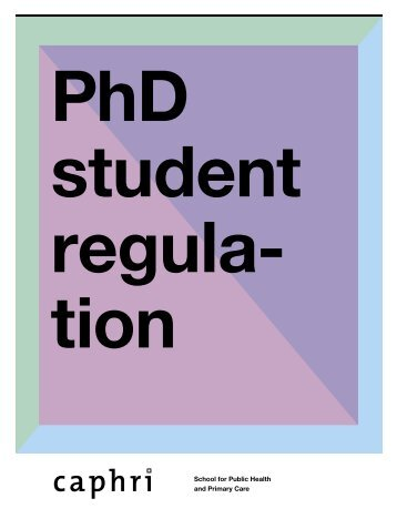 PhD students - Caphri