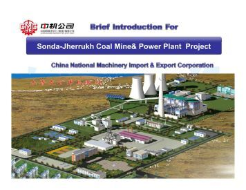 Sonda-Jherrukh Coal Mine& Power Plant Project