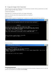 IN - Carga de Imagen Intel Classmate