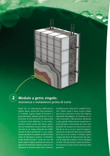 Modulo a getto singolo: - GuidaEdilizia.it