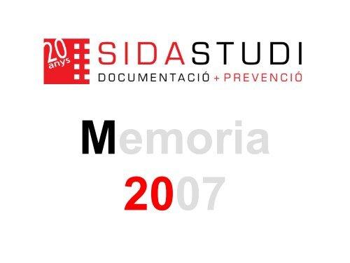 Memoria 2007 - Sida Studi